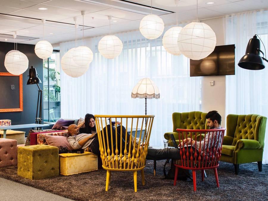 Inredning av Storey Interior på Spotifys kontor i Stockholm