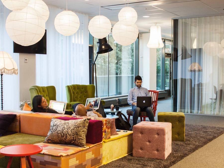 Spotifys kontor i Stockholm