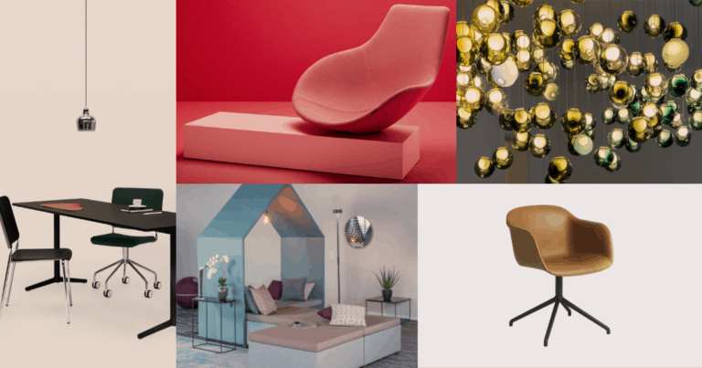 Möbler från märken vi säljer