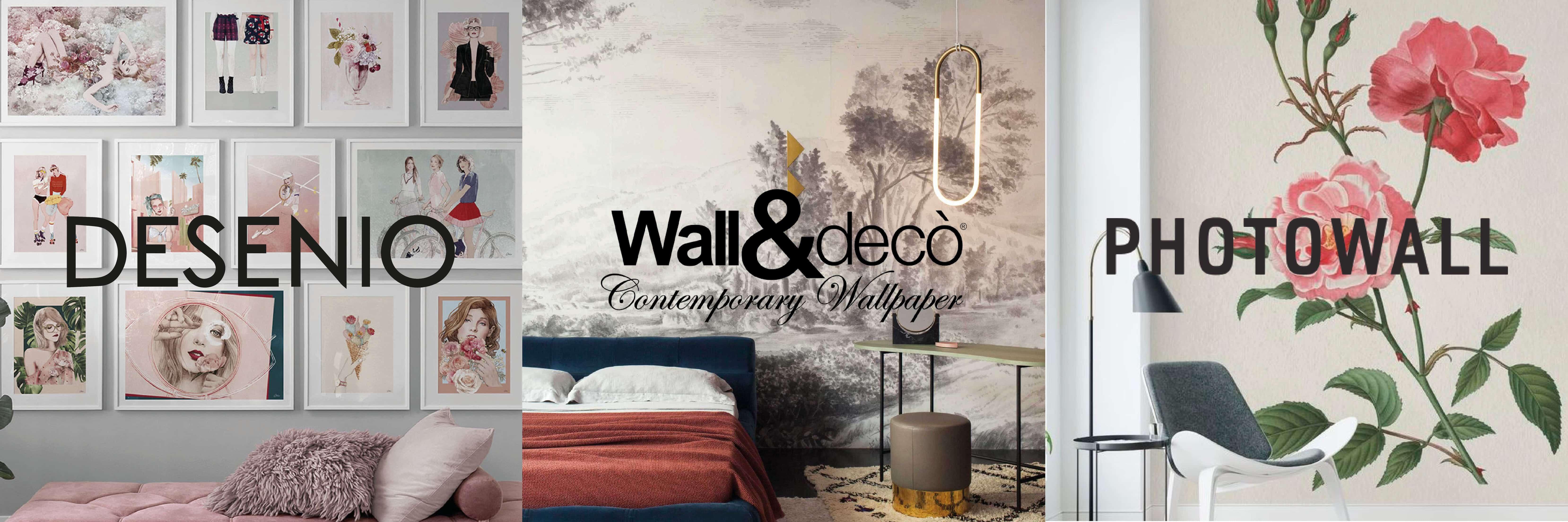 Varumärkena Desimo, wall&Deco och photowall